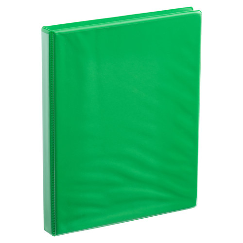 A4 Half Inch Lime Green 4-Ring Binder