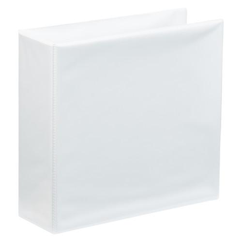 """A4 3"""" White 2-Ring Binder"""