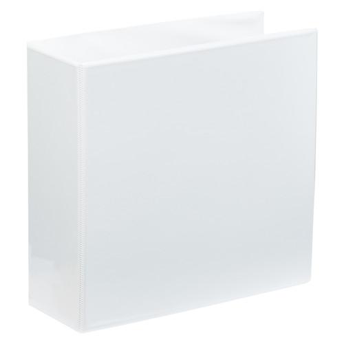 """A4 4"""" White 2-Ring Binder"""