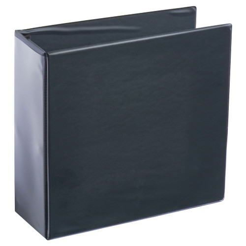A4 4 Post Style Binder Black 4 Inch
