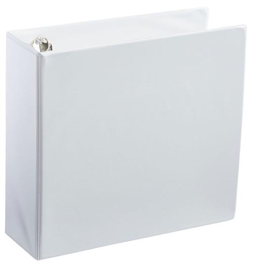 """A4 3"""" White 3-Ring Binder"""