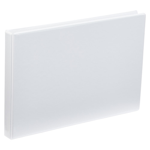 A3 4 Ring Binder 1 Inch White