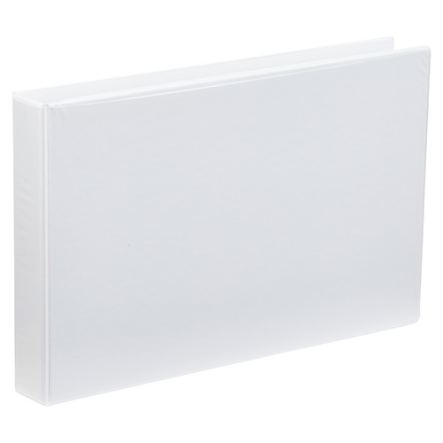 A3 4 Ring Binder 1.5 Inch White