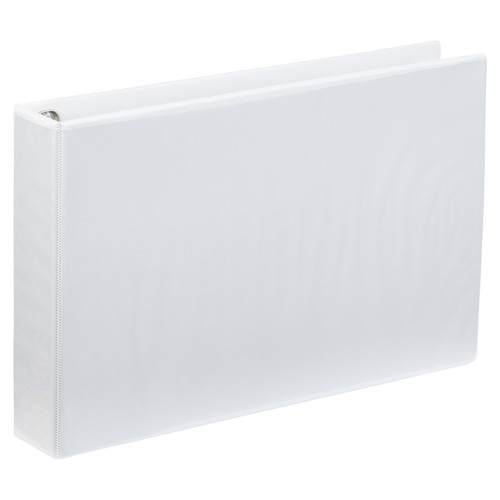 A3 4 Ring Binder 2 Inch White