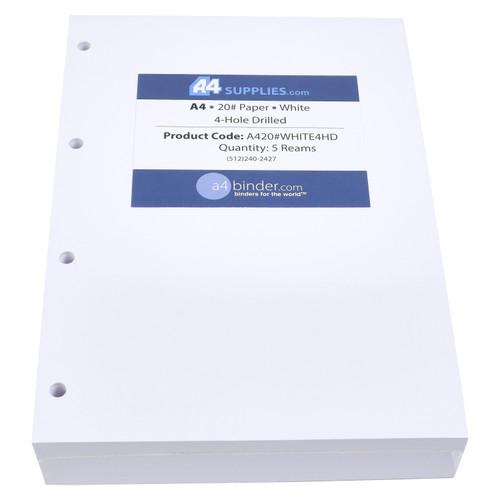 A4 20lb White Paper