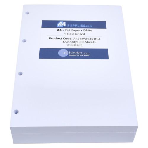 A4 24lb White Paper