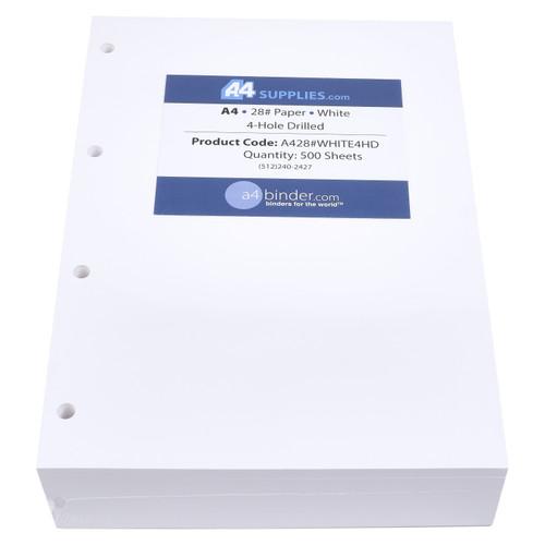 A4 28lb White Paper
