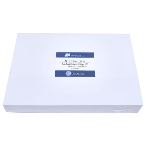 A3 24lb White Paper