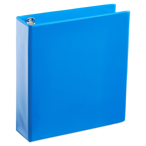A4 2 Inch Process Blue 4-Ring Binder