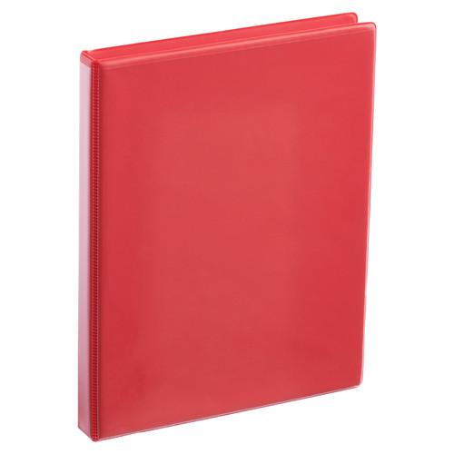 A4 Half Inch Red 4-Ring Binder