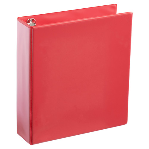 A4 2 Inch Red 4-Ring Binder