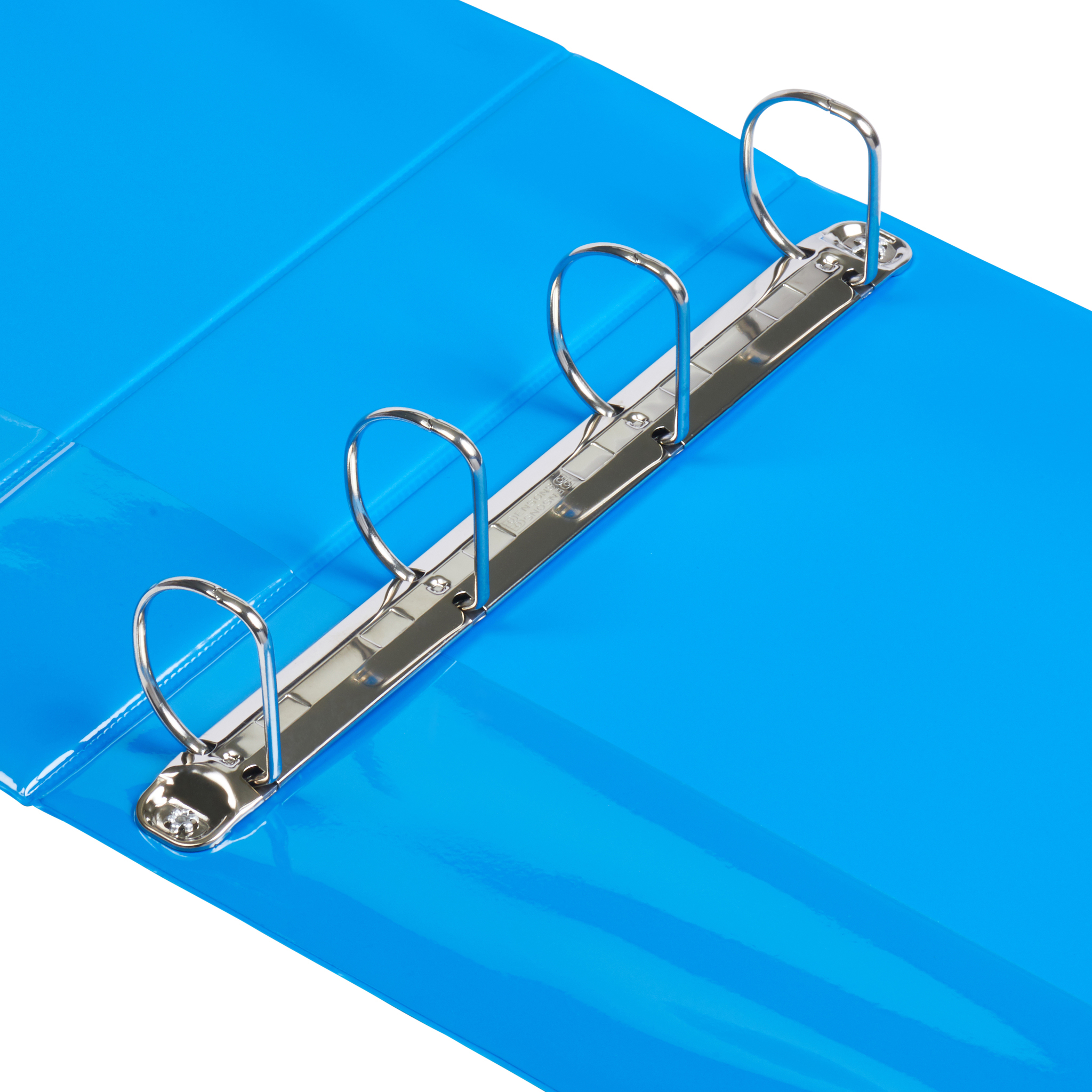 A4 Process Blue 4-Ring Binders