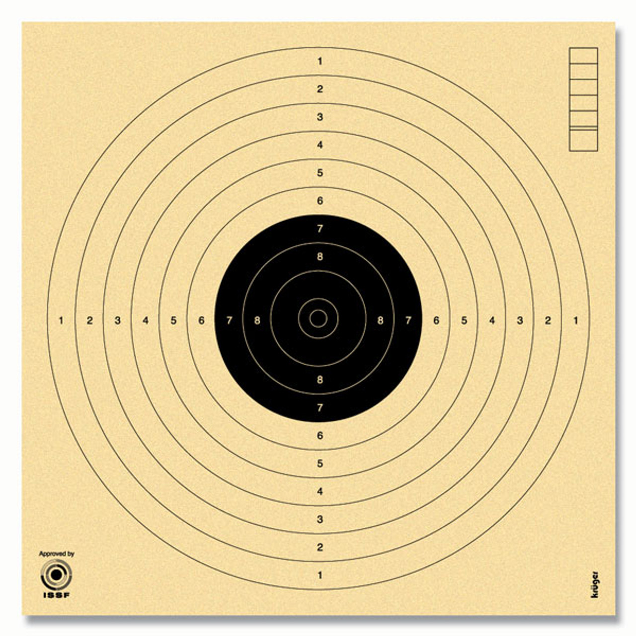 Top Five Issf 10m Air Pistol Targets - Circus