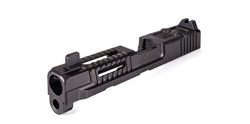 Hellfire Slide for M&P Full Size w/ Multi Optic Cut- Assembled, Suppressor-Height Sights