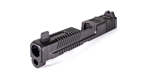 Patriot Slide for M&P Full Size w/ Multi Optic Cut- Assembled, Suppressor-Height Sights