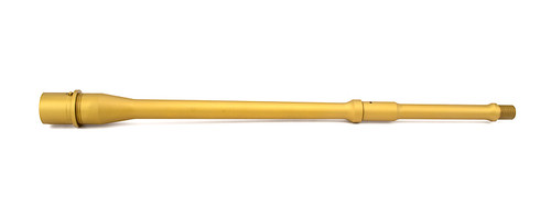 """*Limited Edition* Match Series- 14.5"""" Pencil, .223 Wylde, Mid-Length, 416R, Nitride, 5R, Nickel Teflon Extension, TIN PVD"""