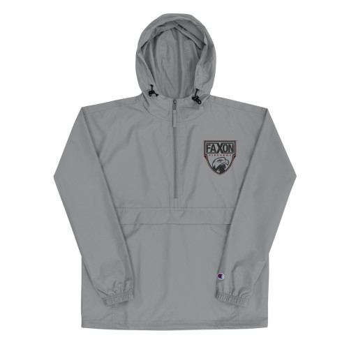 Classic Shield Embroidered Champion Packable Jacket
