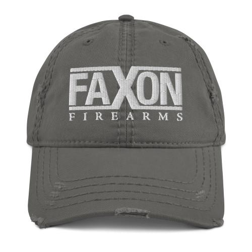 Faxon X Distressed Dad Hat