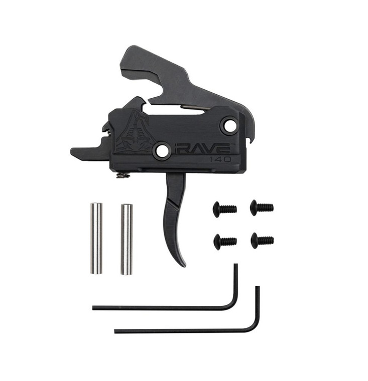 RISE Armament RAVE 140 Curved Trigger