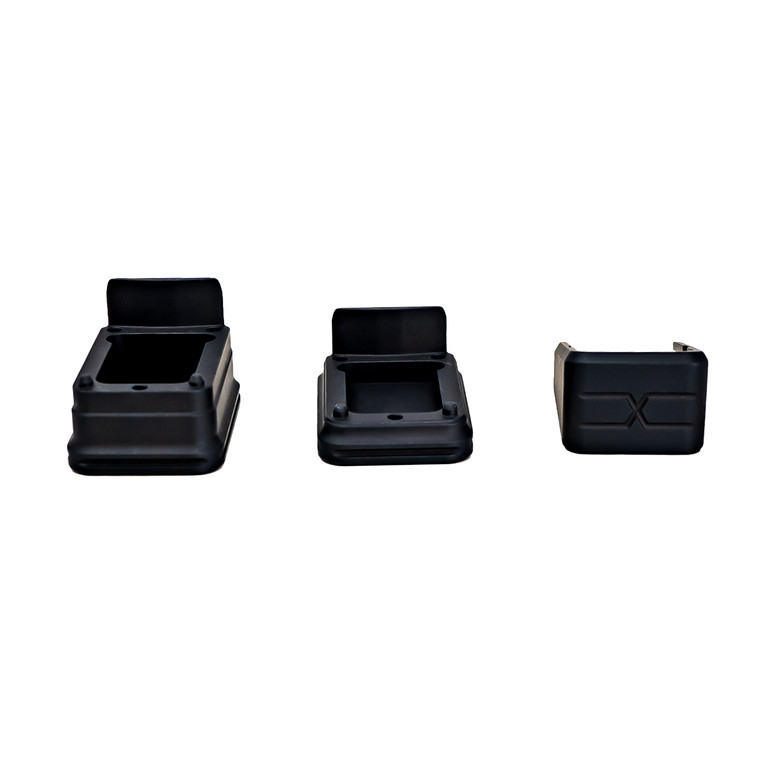 Faxon Modular Mag Extension for G19, Combo, Black