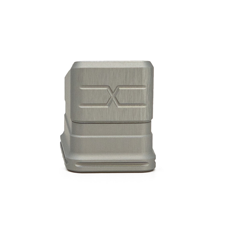 Faxon Modular Mag Extension for G19, +5, Gray