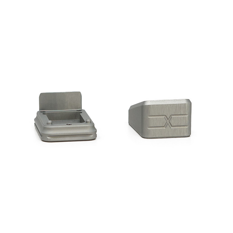 Faxon Modular Mag Extension for G19, +3, Gray