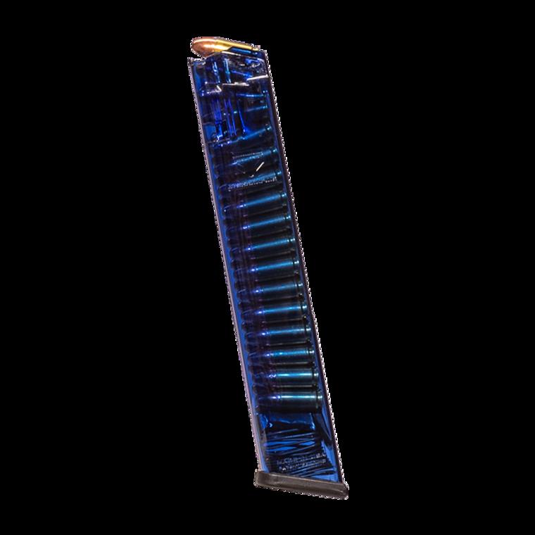 ETS Mag for Glock 9mm 31RD Blue