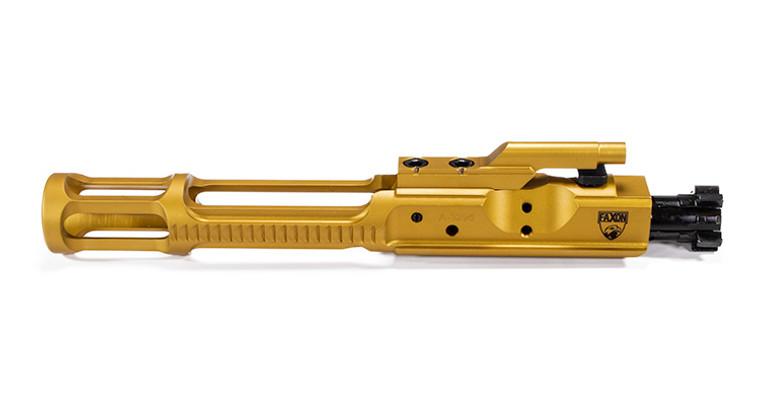 Faxon 5.56 Gunner Lightweight Bolt Carrier Complete, TiN PVD