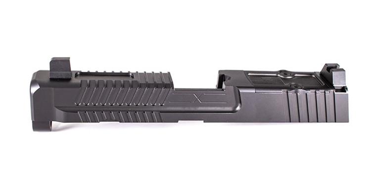 Patriot Slide for M&P Full Size w/ Multi Optic Cut- Assembled, Suppressor-Height Sights