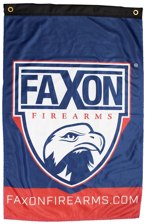 Faxon 2' x 3' Shield Logo Flag