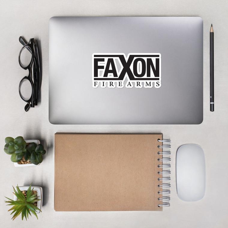 Faxon X - Bubble-free stickers
