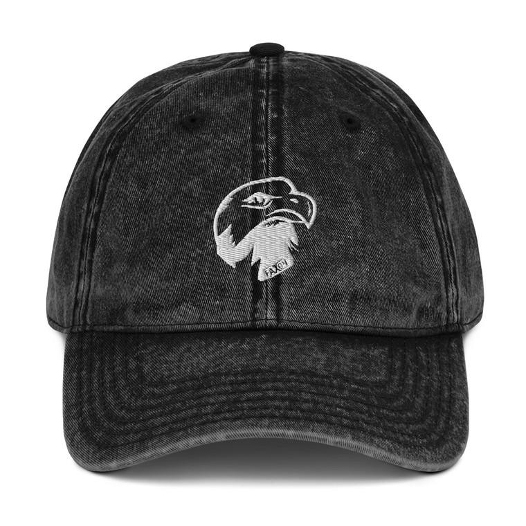 Eagle Head Vintage Cotton Twill Cap