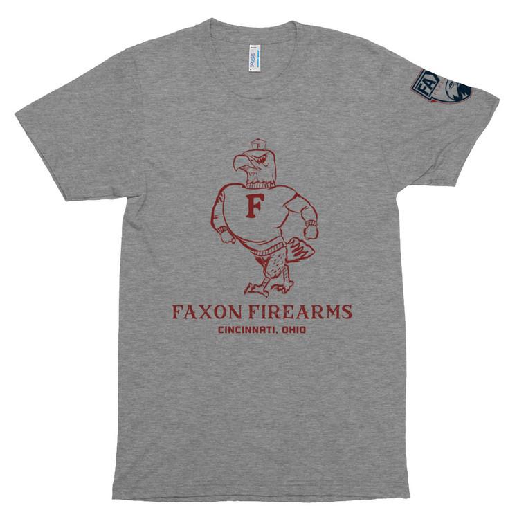 Faxon Vintage Eagle Unisex Tri-Blend Track Shirt