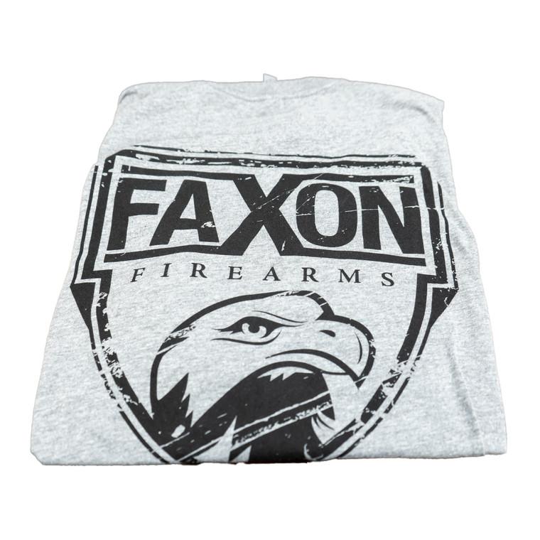 Faxon Firearms Grey Tri-blend T-Shirt