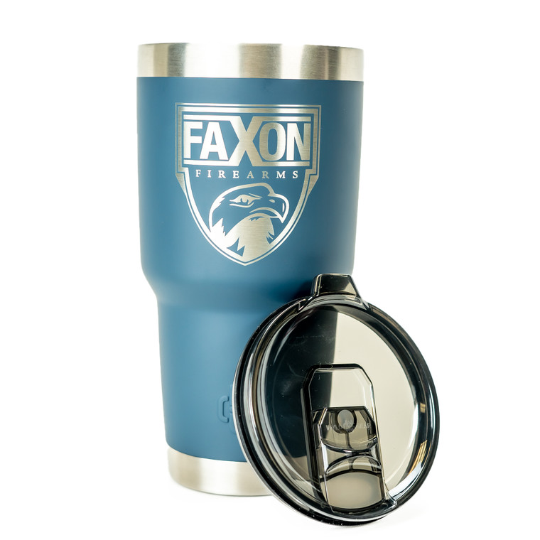 Faxon Firearms Large Tumbler - Dark Blue