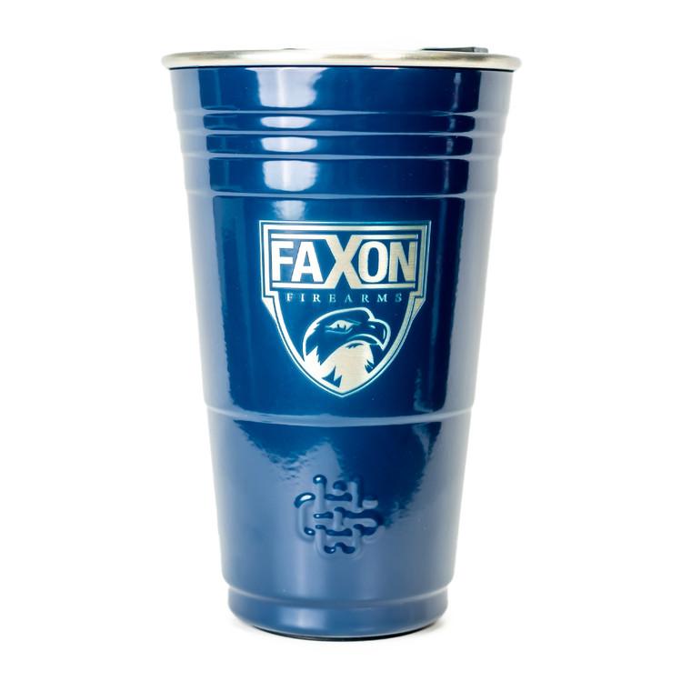 Faxon Firearms Aluminum Party Cup - Dark Blue