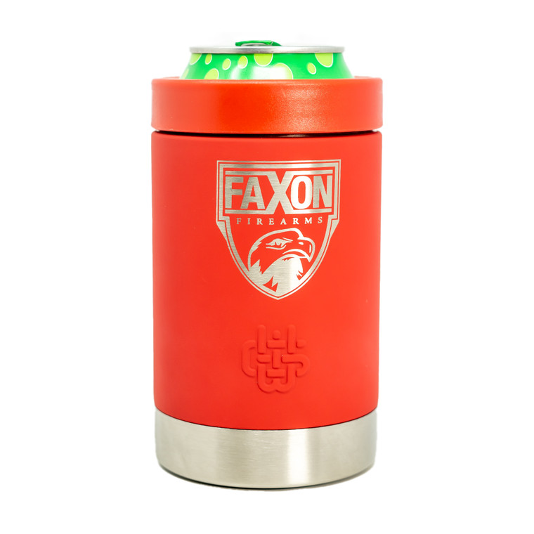Faxon Firearms Aluminum Coozie - Red