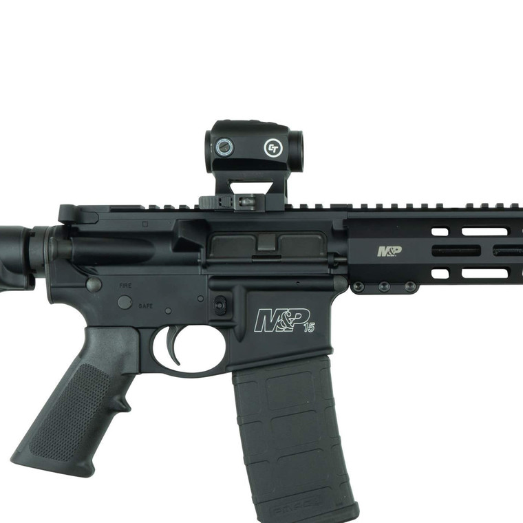 Crimson Trace CTS-1000 COMPACT TACTICAL RED DOT SIGHT FOR RIFLES [2.0 MOA]