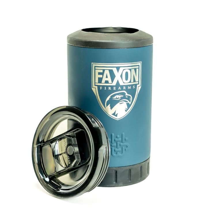 Faxon Firearms Aluminum Coozie - Dark Blue