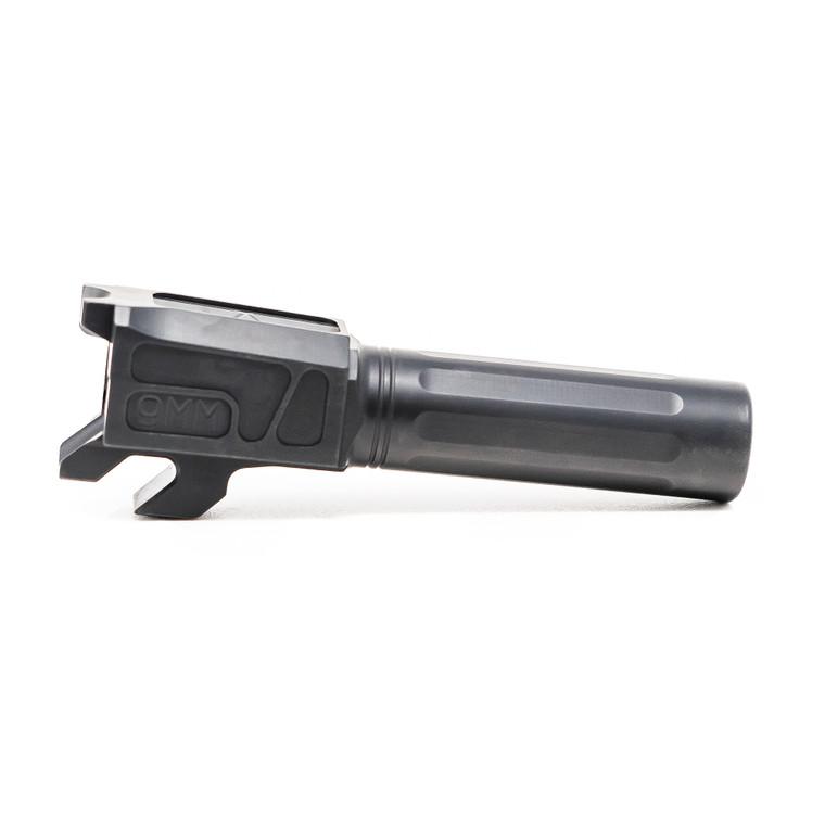Faxon M&P Shield Barrel, Match Series, 9mm, 416-R, Nitride, Non-Threaded