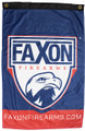 Faxon 2' x 3' Shield Logo Flag