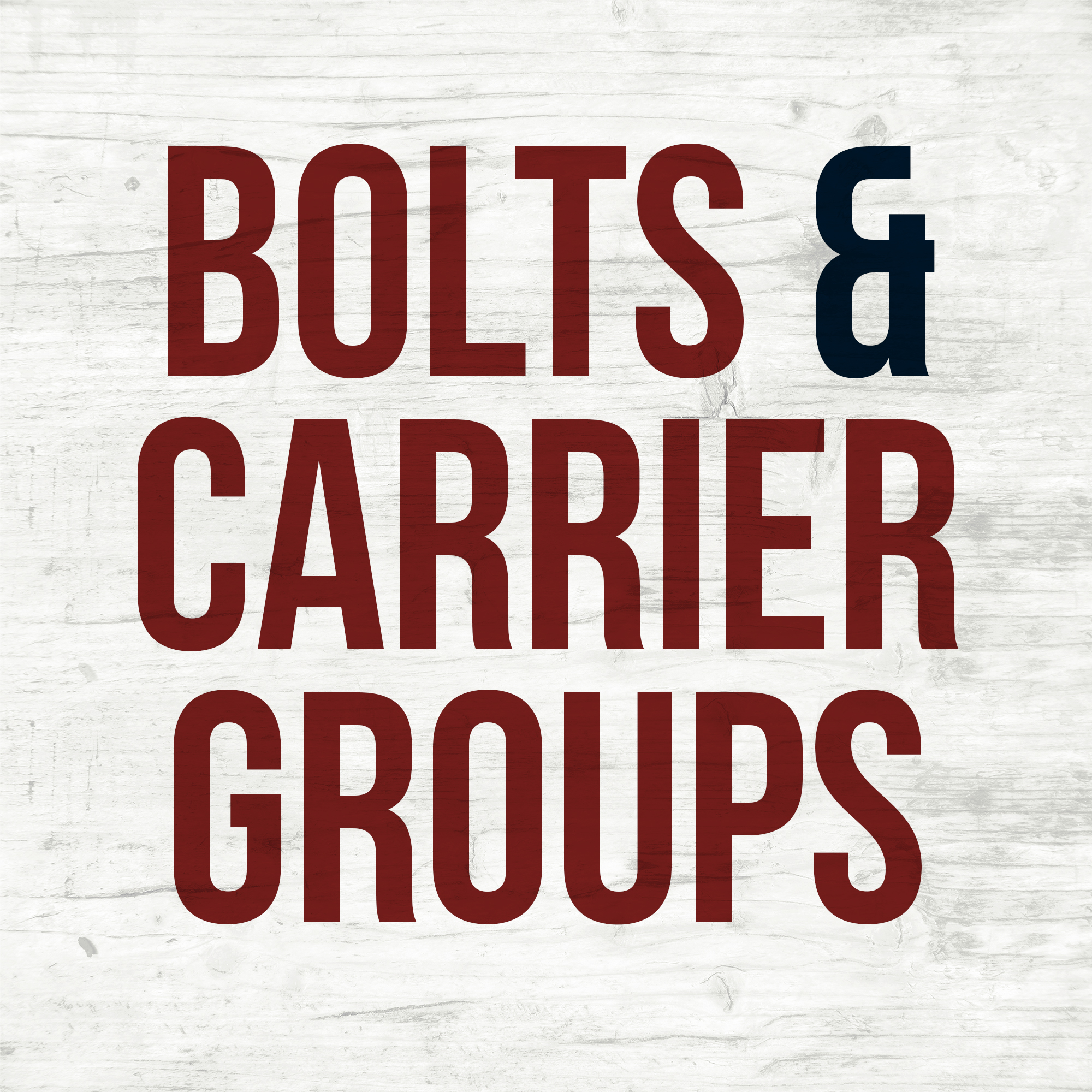Bolts & Carrier Groups