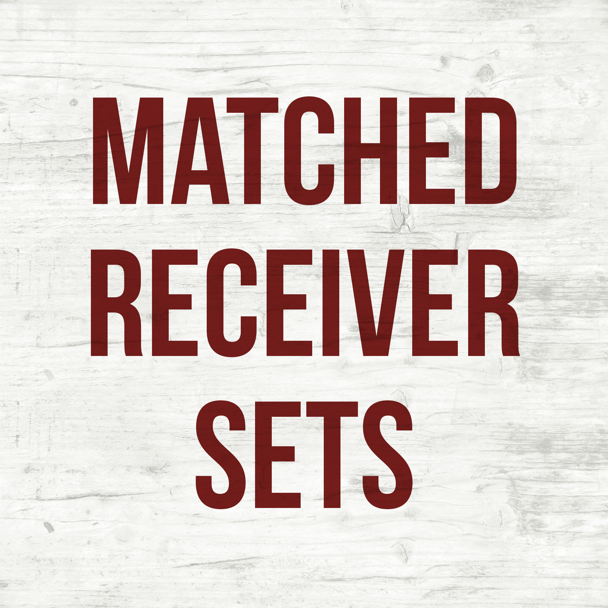 Matched Receiver Sets