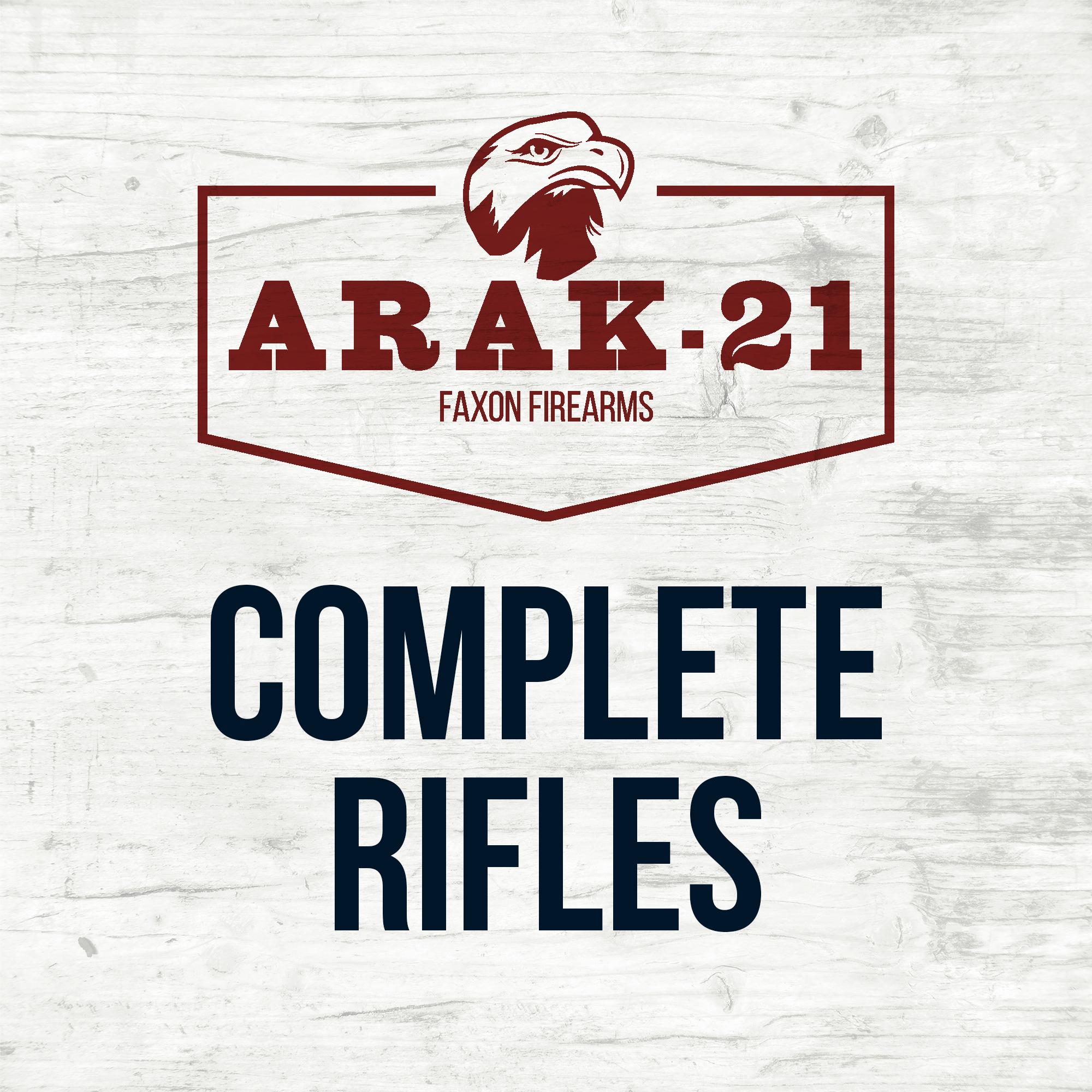 ARAK-21 XRS Complete Rifles