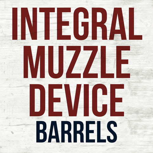 Integral Muzzle Device