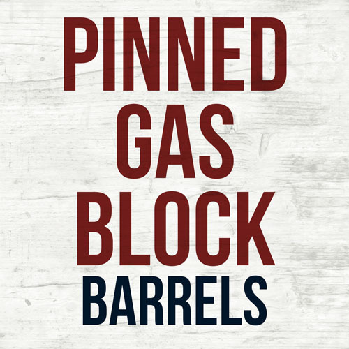 Pinned Gas Block Barrels