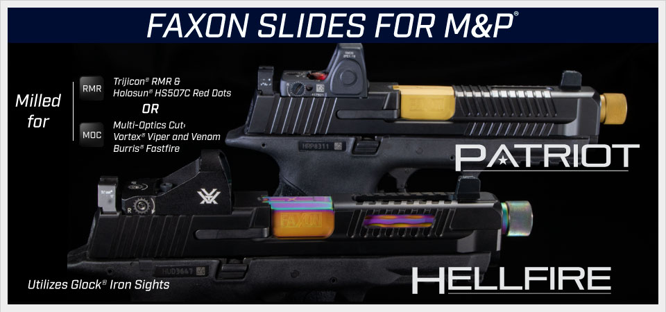 Handgun Parts - Slides - Faxon Firearms