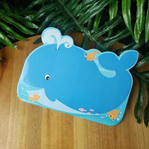 Pocket Doodle Pad-Whale