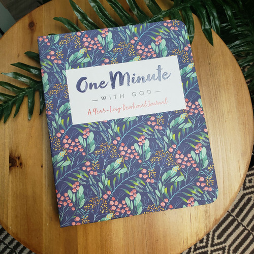 One Minute with GOD a year-long Devotional Journal