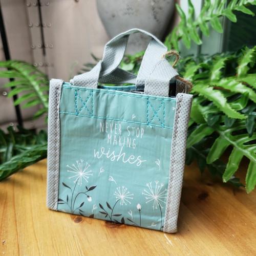 Tiny Reusable Gift Bag-Never Stop